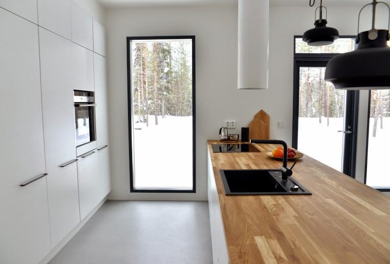 Koti rakennetaan tunteella keittiö vol 1001