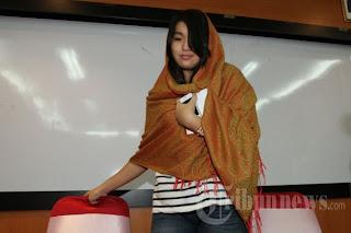 Foto Maharani Suciyono Mahasiswi cantik yang ikut ditangkap KPK dalam kasus suap daging sapi