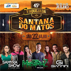 Santana Do Matos dia 22