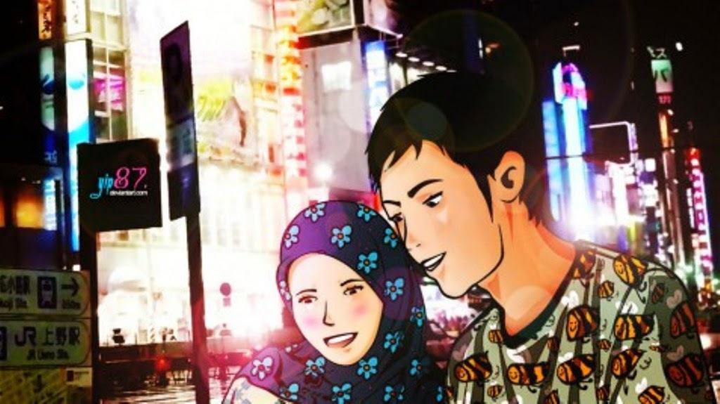 Gambar Download Gratis 24 Desain Avatar Muslim Muslimah Versi Lengkap Kartun di Rebanas  Rebanas