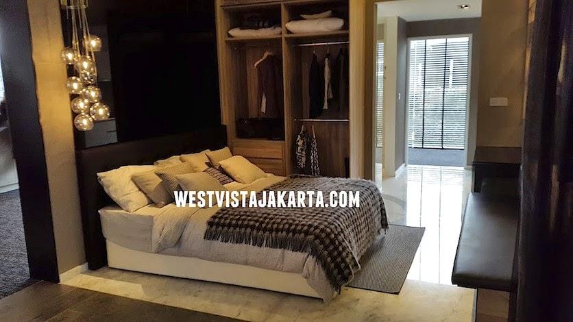 Contoh Unit Studio Apartemen West Vista Jakarta