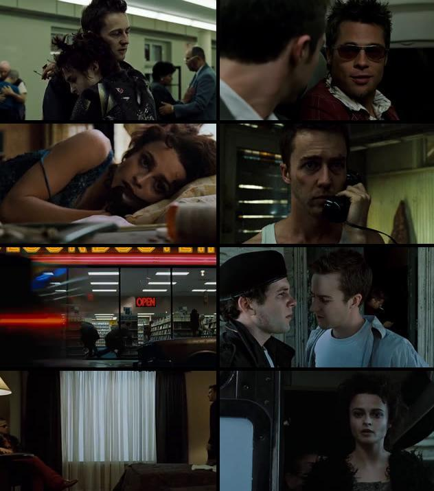Fight Club 1999 Dual Audio Hindi 480p BRRip 350mb