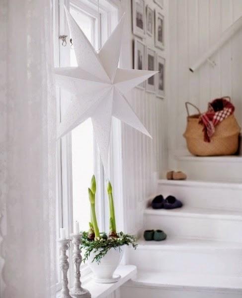 Navidad tradicional y n rdica en blanco y rojo desde my - Blog decoracion navidad ...