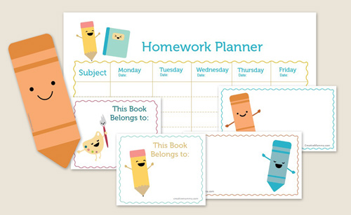 be different act normal free printable back to school homework calendar. Black Bedroom Furniture Sets. Home Design Ideas