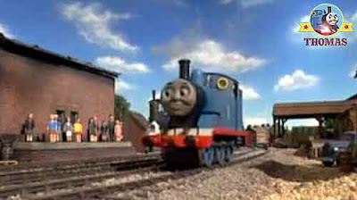 Sodor Island big express Gordon Henry the green engine Thomas the train and friends small children