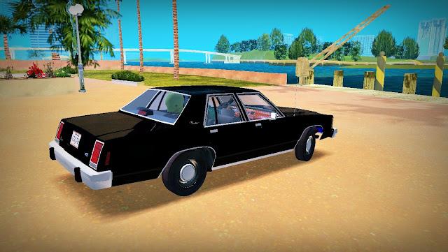 Ford LTD Crown Victoria MIB 1985 GTA Vice City
