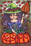 Regan Kubecek's Pumpkin Witch