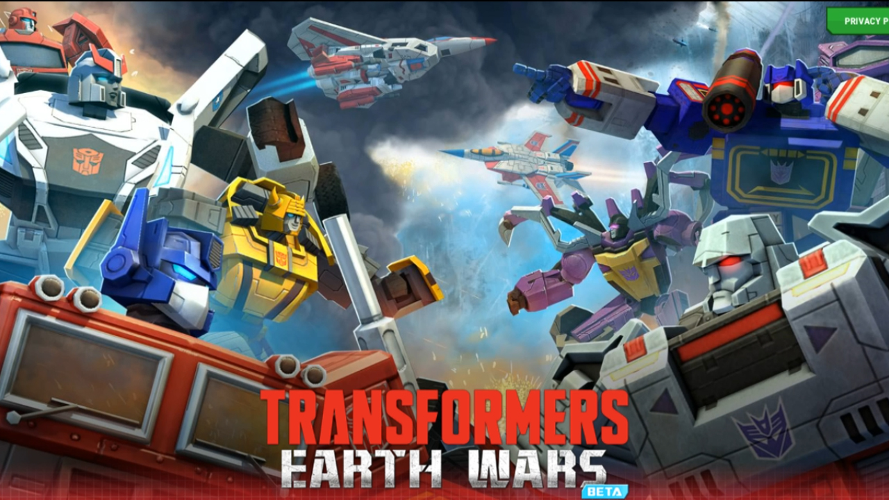 Transformers Earth Wars Beta Gameplay IOS / Android