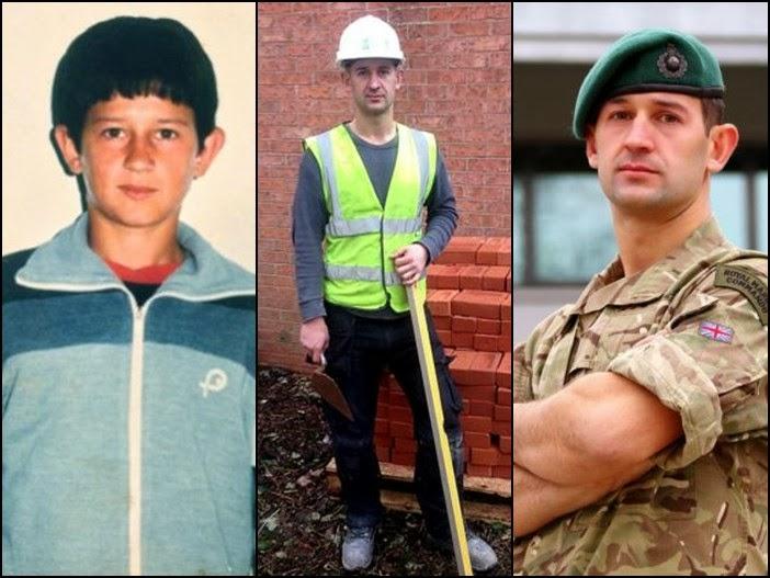 Arben Islami, refugjat, murator dhe marins anglez