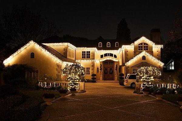 Outdoor Lighting Xmas Ideas | Interior Decorating