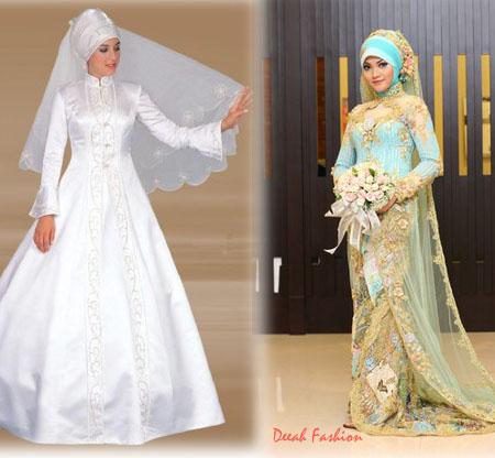 Model Busana Muslim Modern Terbaru Pernikahan