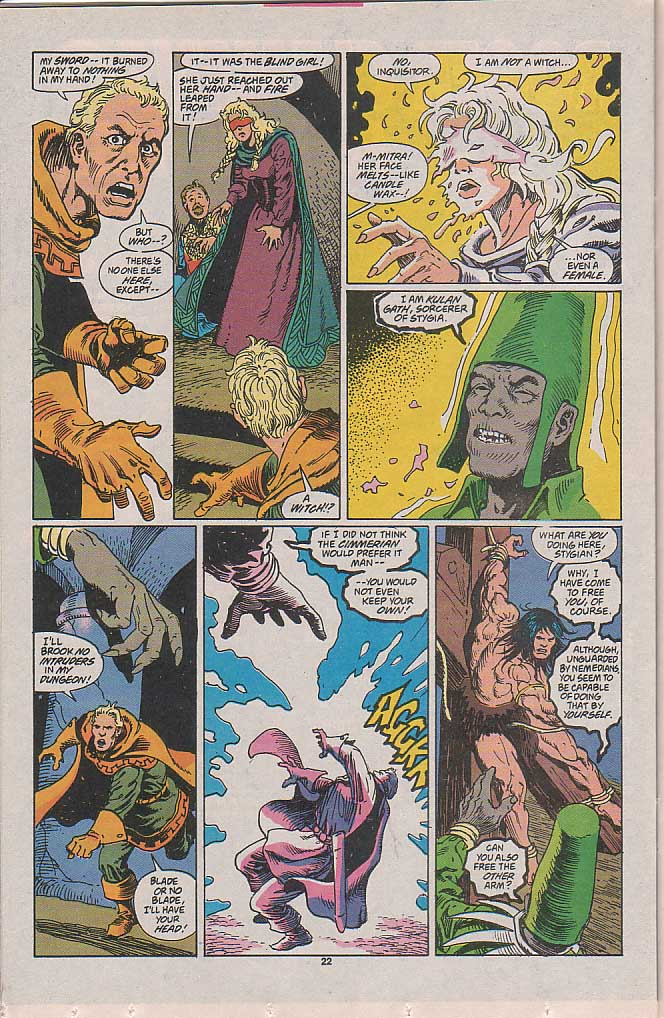 Conan the Barbarian (1970) Issue #257 #269 - English 17
