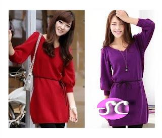 grosir baju rajut model style dress