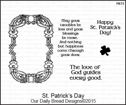 Stamps - Our Daily Bread Designs St. Patrick's Day