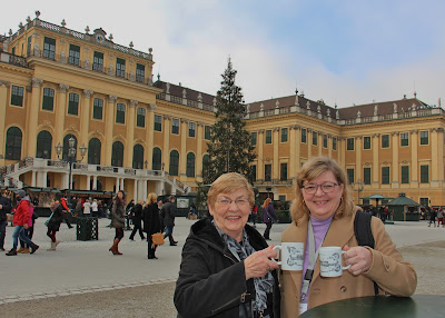 European Christmas Markets river cruise,Schonbrunn Palace, Vienna. Photograph by Janie Robinson, Travel Writer