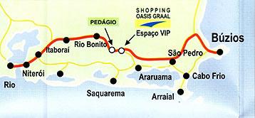 Como llegar a Buzios desde Rio de Janeiro