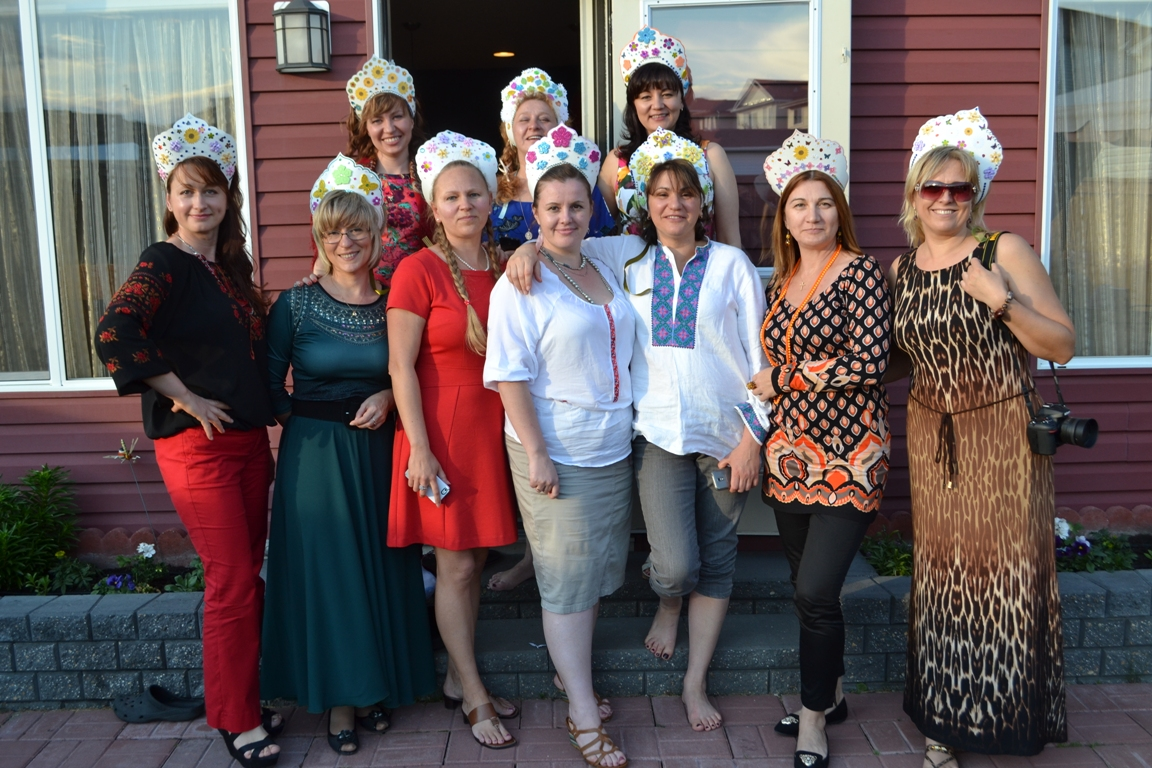 Фото русских девушек на вечеринке 4 фотография