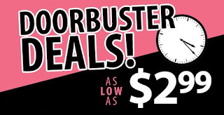 Door Buster Deals
