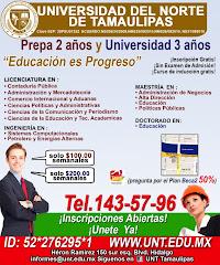 Universidad del Norte de Tamaulipas
