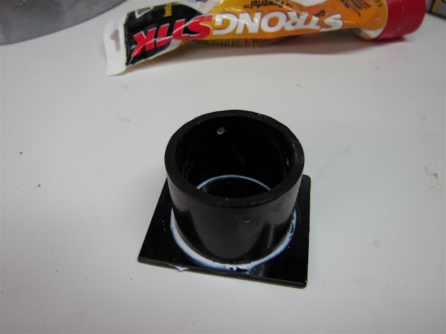 assembled homemade ND filter