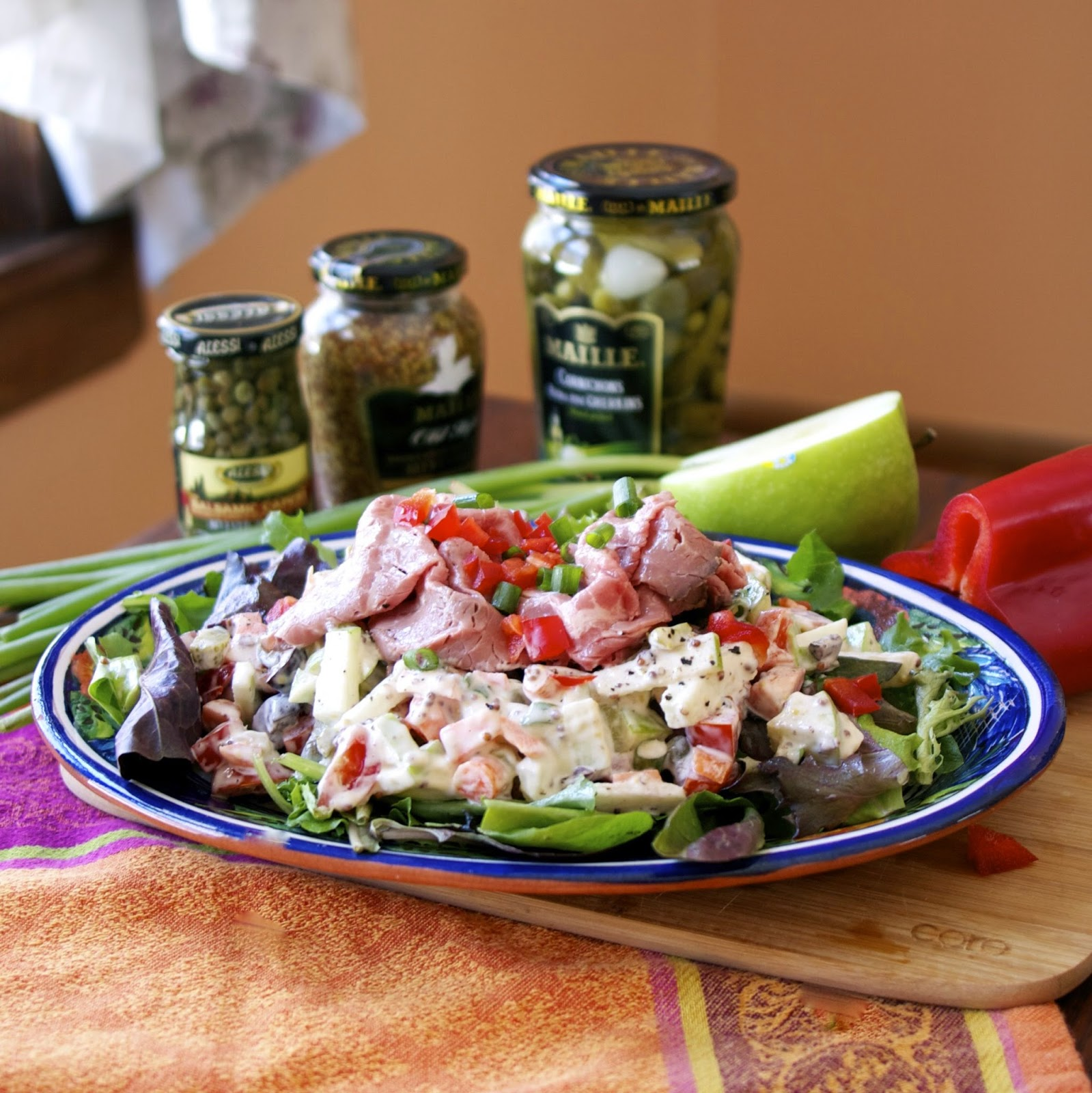 Next-Day Beef Salad- simplelivingeating.com