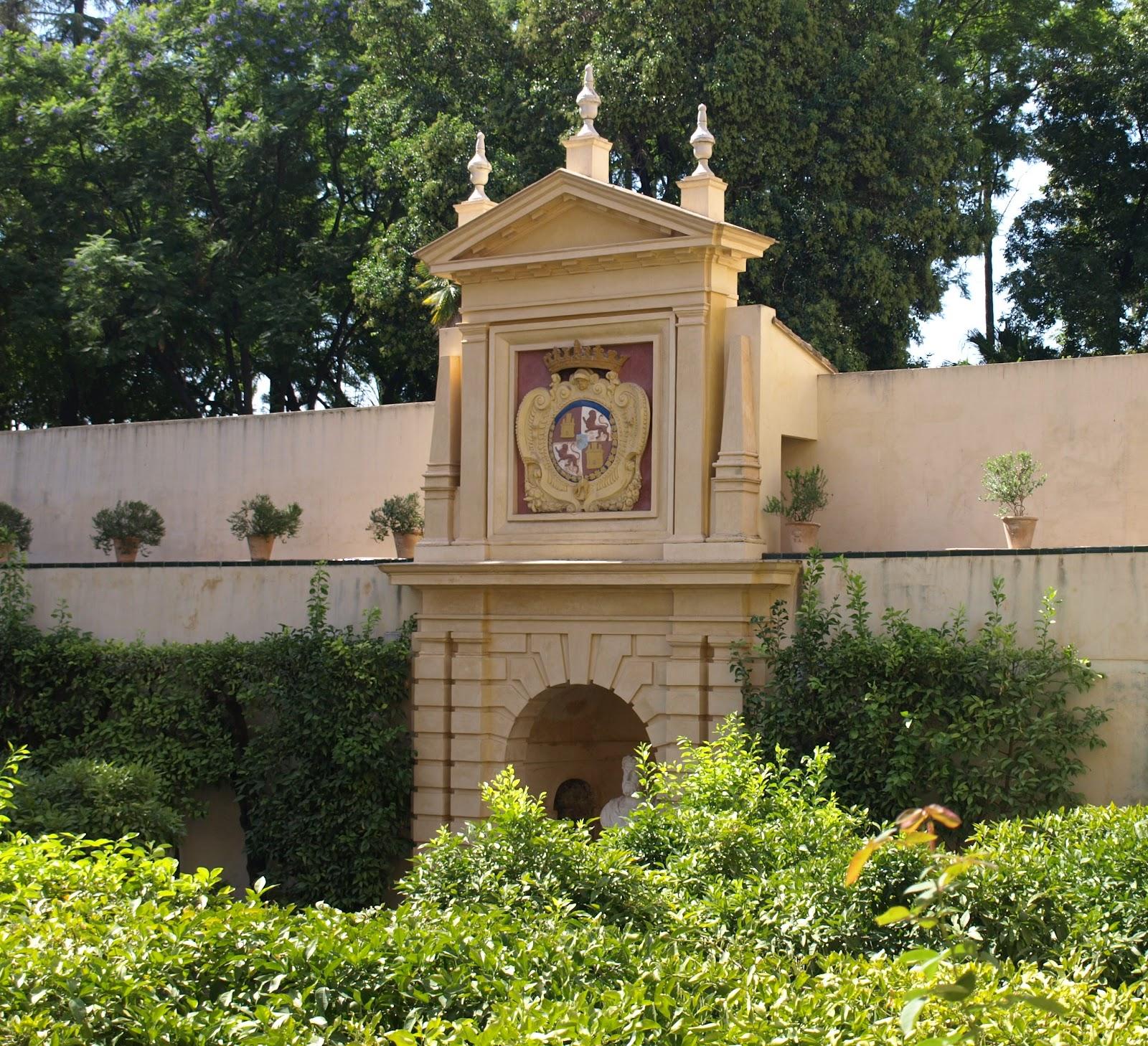 Sevilla Daily Photo: Alcázar (25): El Jardín de las Flores.