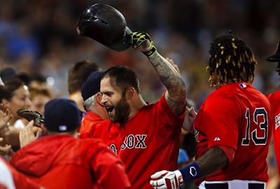 Return O' The Beard: Napoli HR Nets Sox Win