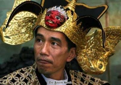 Jokowi ala Gatot Kaca