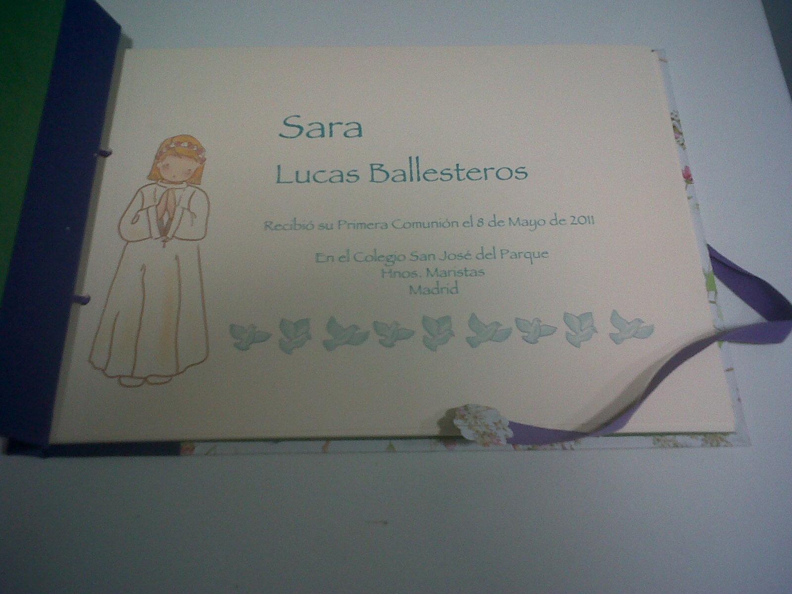 ... EL TALLER DE CURRA: Libros de Primera Comunión para niños y niñas