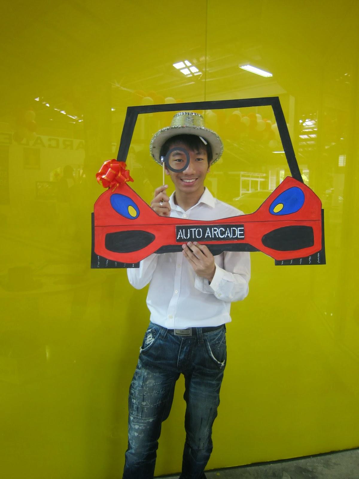 Auto Arcade CNY Opening House 2014