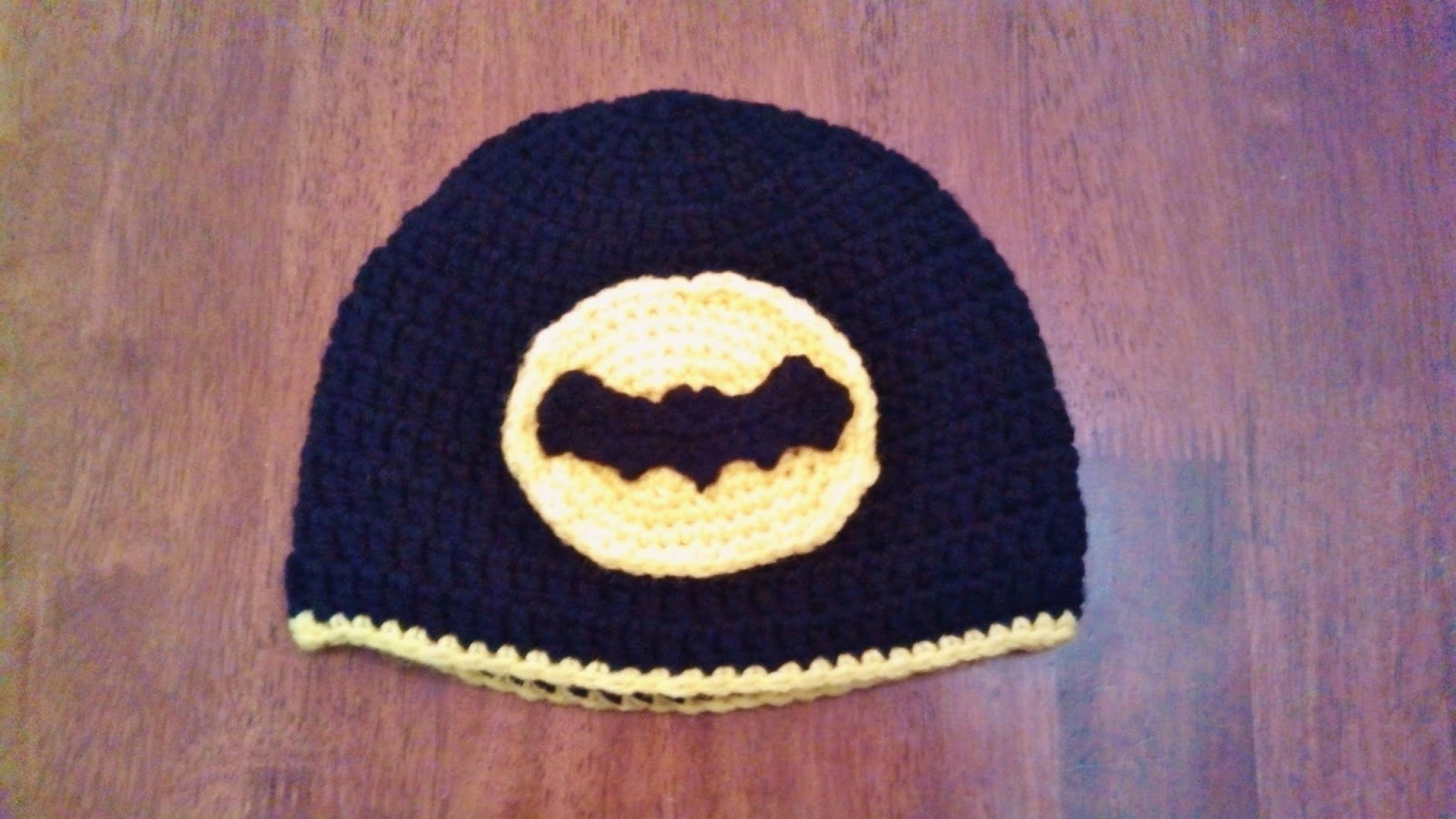 Butterflys Creations Batman Logo Beanies