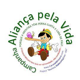 PARTICIPE DA ALIANÇA PELA VIDA: Clique sobre a foto