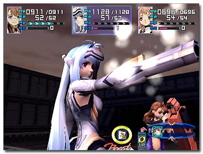 Xenosaga Gameplay