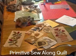 Primitive Sew Along Quilt