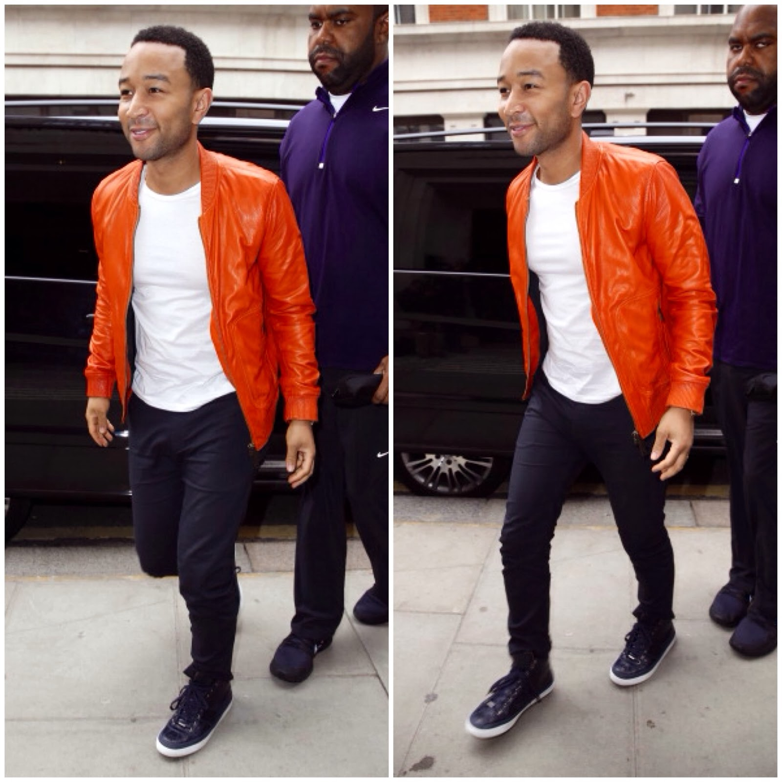 John Legend's Jimmy Choo 'Belgravia' Sneakers - BBC Radio 2 Studios, London
