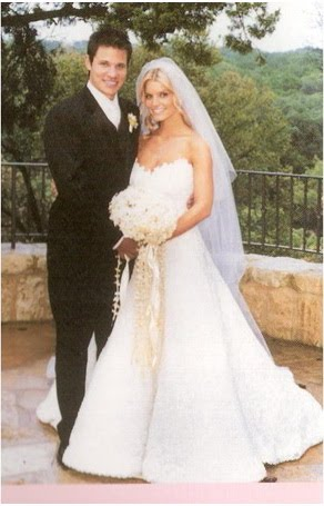 jessica simpson wedding gown. Jessica Simpson is ready to