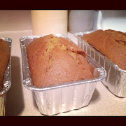 I made a few loaves of pumpkin bread. Of course it was amazing!
