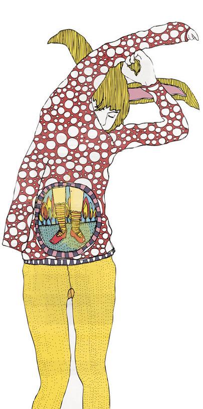 nuncalosabre.Ilustración. Illustration - ©Gosia Herba