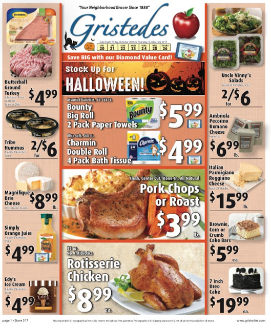 CHECK OUT ROOSEVELT ISLAND GRISTEDES SALES & SPECIALS October 20- November 2