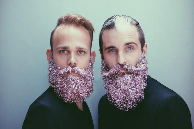bearglitter, como usar barba