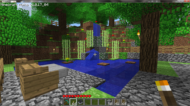 garden ideas minecraft