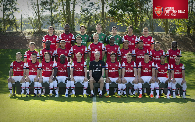 Arsenal squad 2012/2013