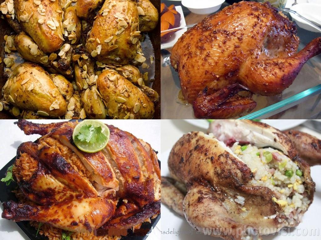 طريقة عمل الدجاج المحشي
