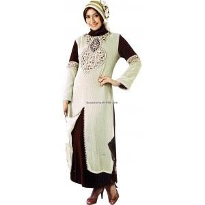 Model Busana Gamis Pesta Muslimah Modern