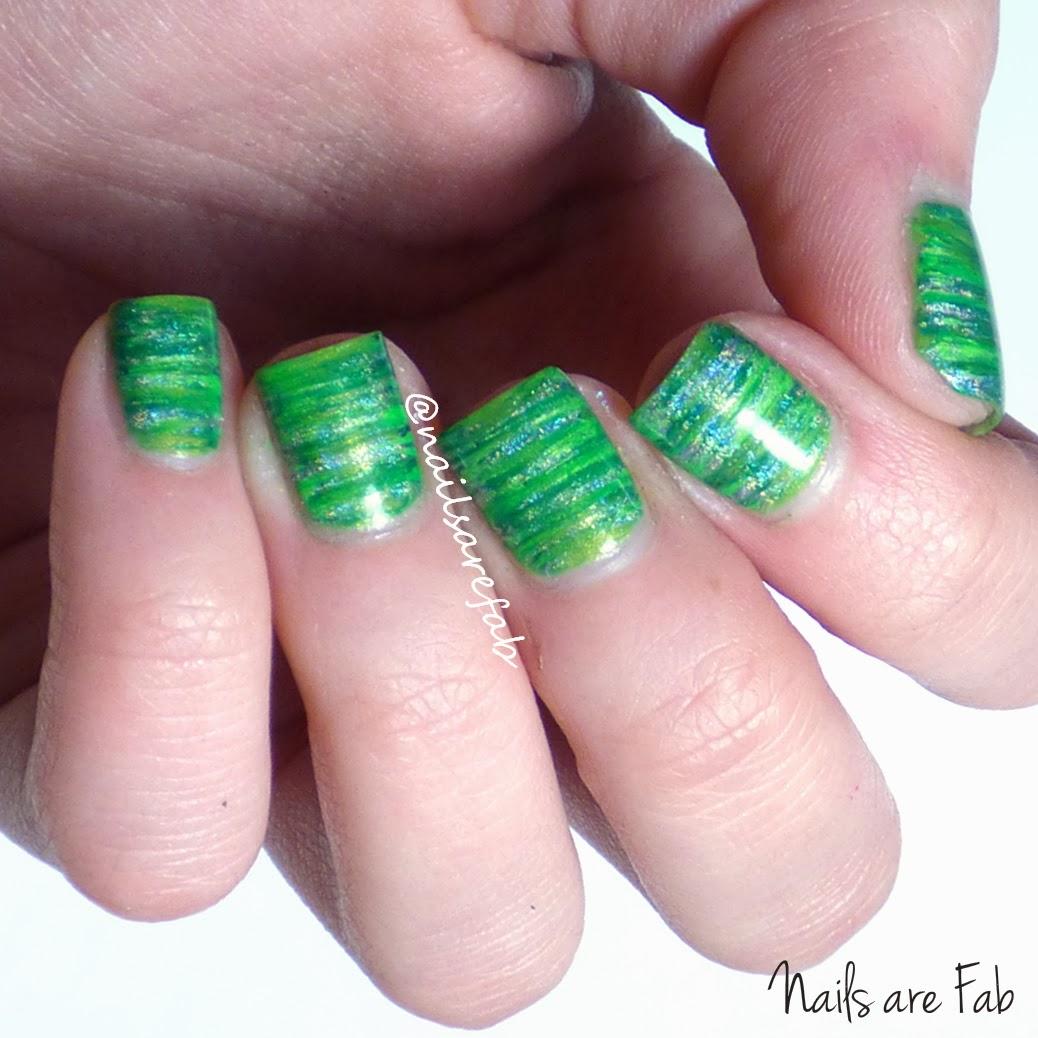 Fan Brush Nail Art – ledufa.com