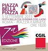 PIAZZA BELLA PIAZZA - 5 SETTEMBRE 2015 - FESTA DELLA CGIL DI ROMA E DEL LAZIO