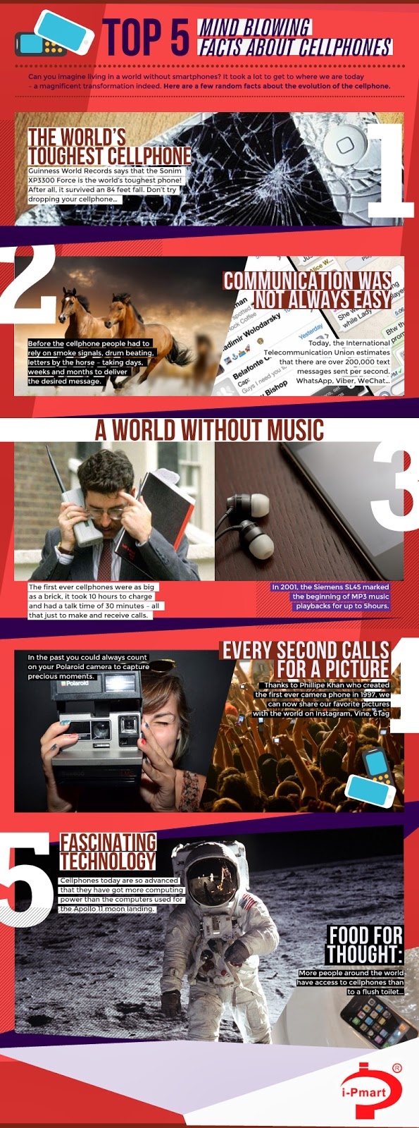Wordless Wednesday 86 Facts About Cellphones