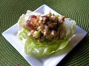 Almond Grape Chicken Salad