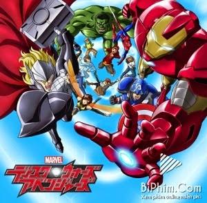 Phim Đĩa Marvel: Biệt Đội Báo Thù