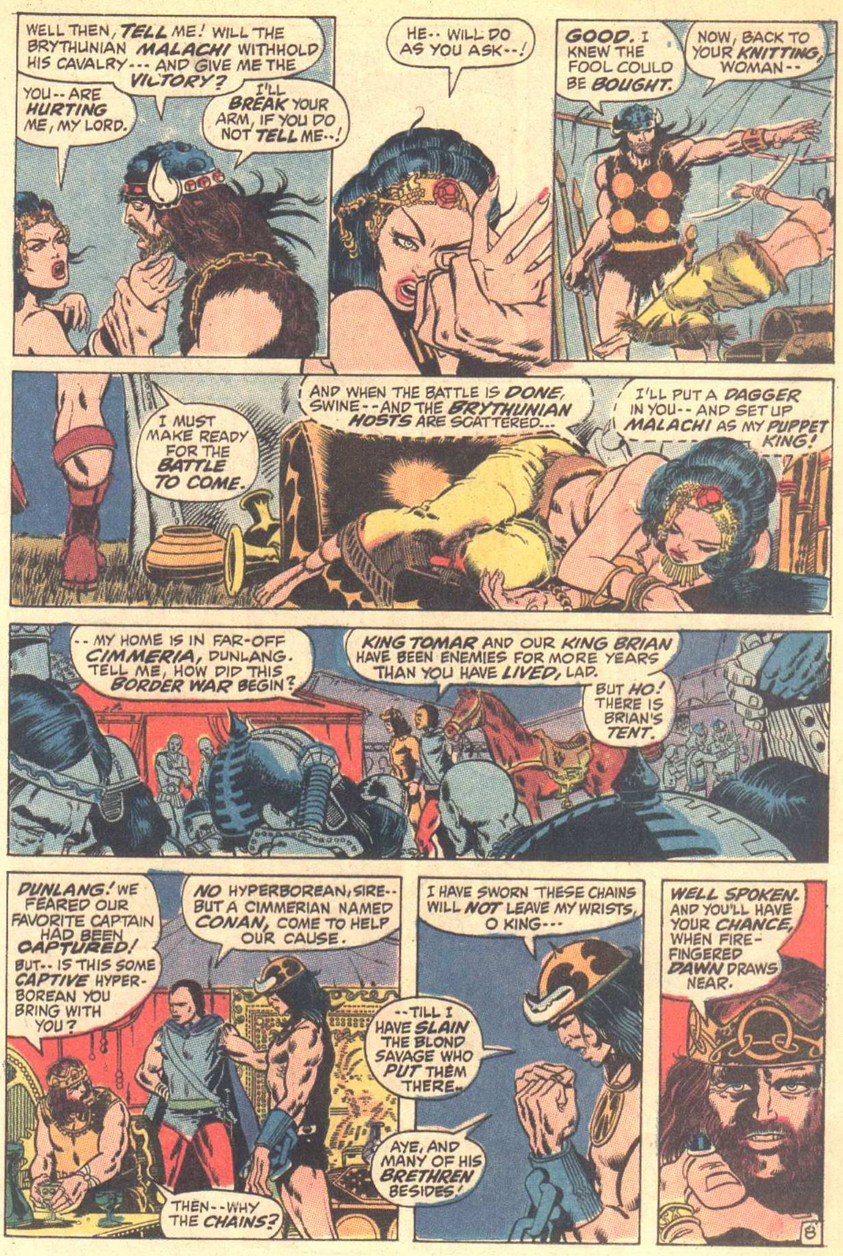 Conan the Barbarian (1970) Issue #3 #15 - English 9
